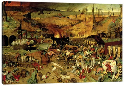 The Triumph Of Death, c.1562 Canvas Art Print