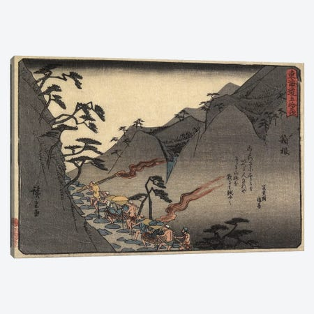 Hakone, 1837-1844 (Minneapolis Institute Of Art) Canvas Print #BMN7260} by Utagawa Hiroshige Canvas Artwork