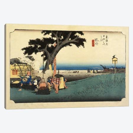 Tea Stall, Fukuroi, c.1833 (Minneapolis Institute Of Art - Variation II) Canvas Print #BMN7270} by Utagawa Hiroshige Art Print