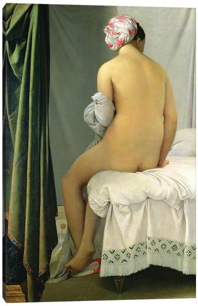 The Bather (Baigneuse Valpincon) Canvas Art Print