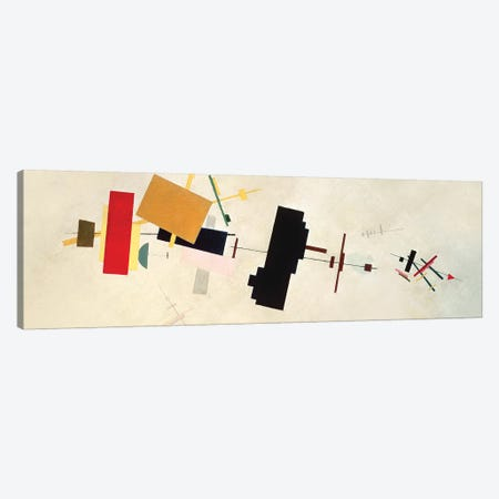 Suprematist Composition No. 56, 1936 Canvas Print #BMN7285} by Kazimir Severinovich Malevich Canvas Art Print