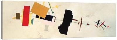 Suprematist Composition No. 56, 1936 Canvas Art Print