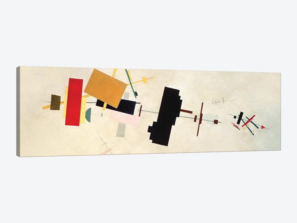 Suprematist Composition No. 56, 1936 by Kazimir Severinovich Malevich 1-piece Canvas Print