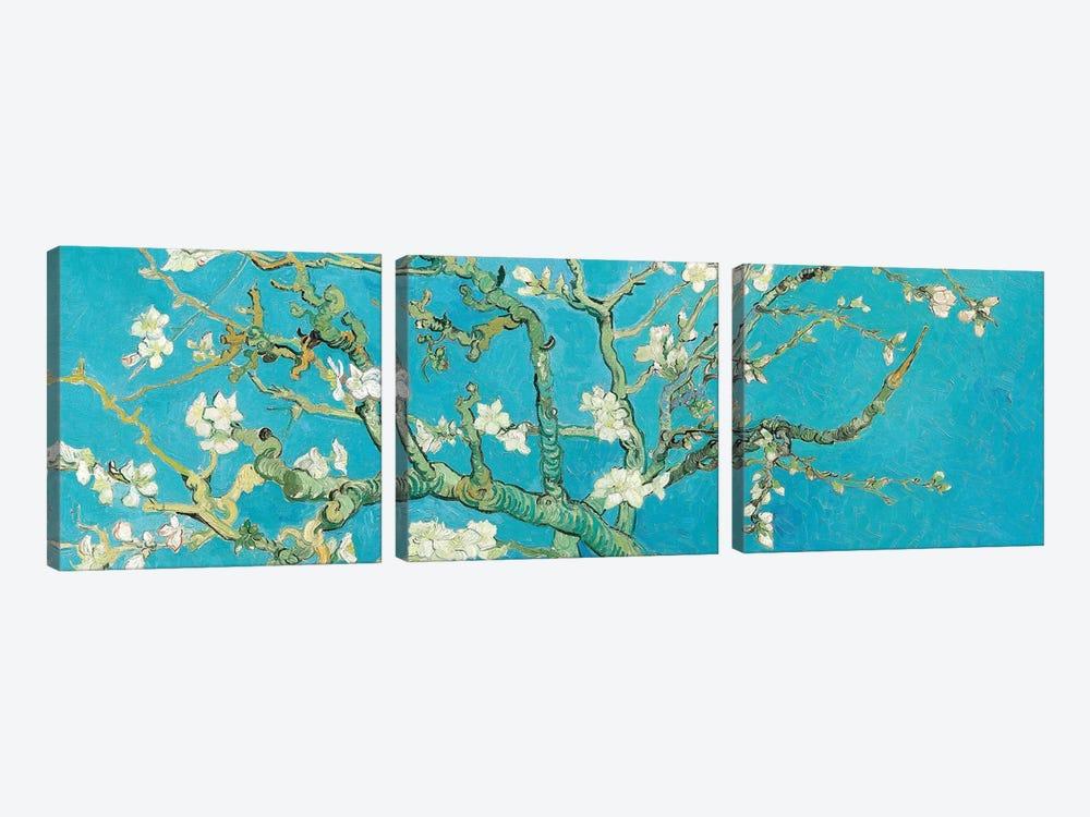 Almond Blossom by Vincent van Gogh 3-piece Canvas Art