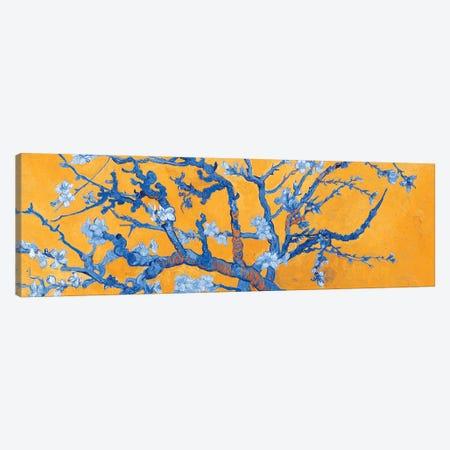 Almond Blossom On Orange Canvas Print #BMN7292} by Vincent van Gogh Canvas Art Print