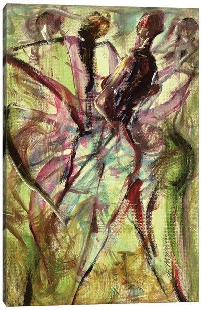 Windy Day Canvas Art Print