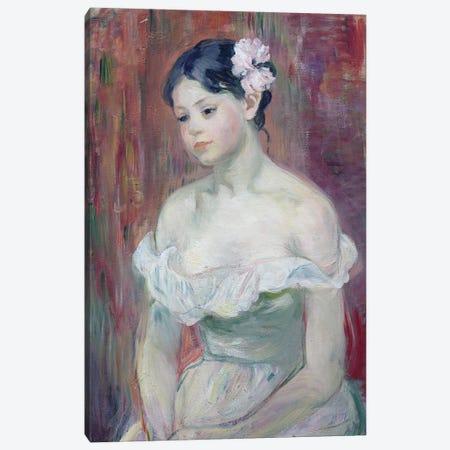 A Young Girl, 1893 Canvas Print #BMN7300} by Berthe Morisot Art Print