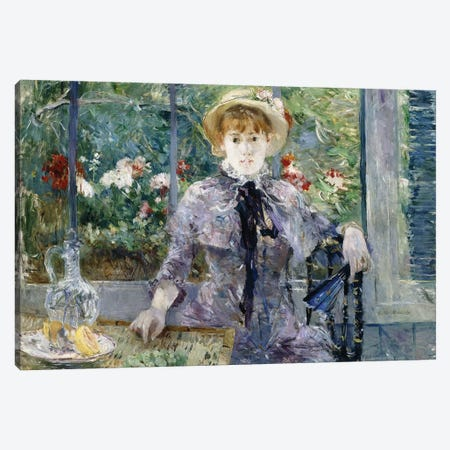 After Breakfast, 1881 Canvas Print #BMN7301} by Berthe Morisot Art Print