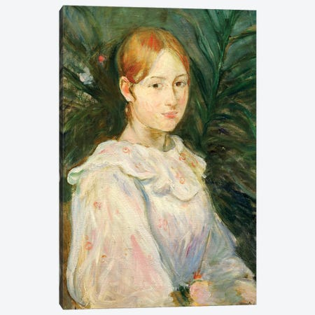 Alice Gamby Canvas Print #BMN7302} by Berthe Morisot Canvas Print