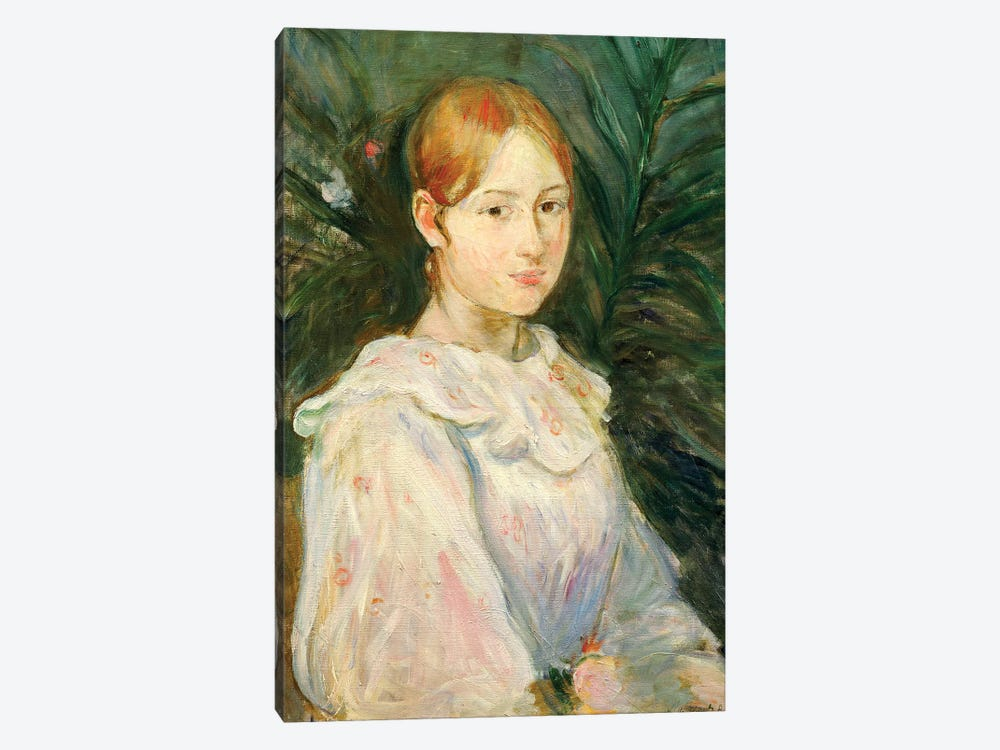 Alice Gamby by Berthe Morisot 1-piece Canvas Print