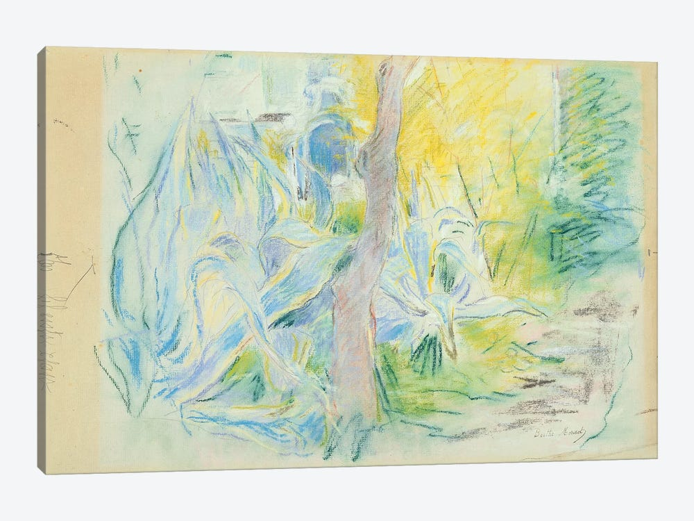 Aloes At Villa Ratti (Pastel On Paper), 1889 by Berthe Morisot 1-piece Canvas Art