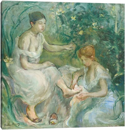 Bath (Bain), 1894 Canvas Art Print