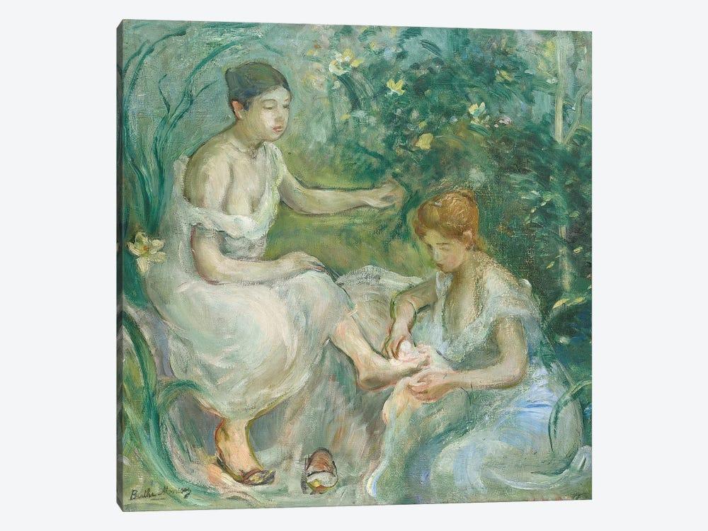 Bath (Bain), 1894 by Berthe Morisot 1-piece Canvas Print