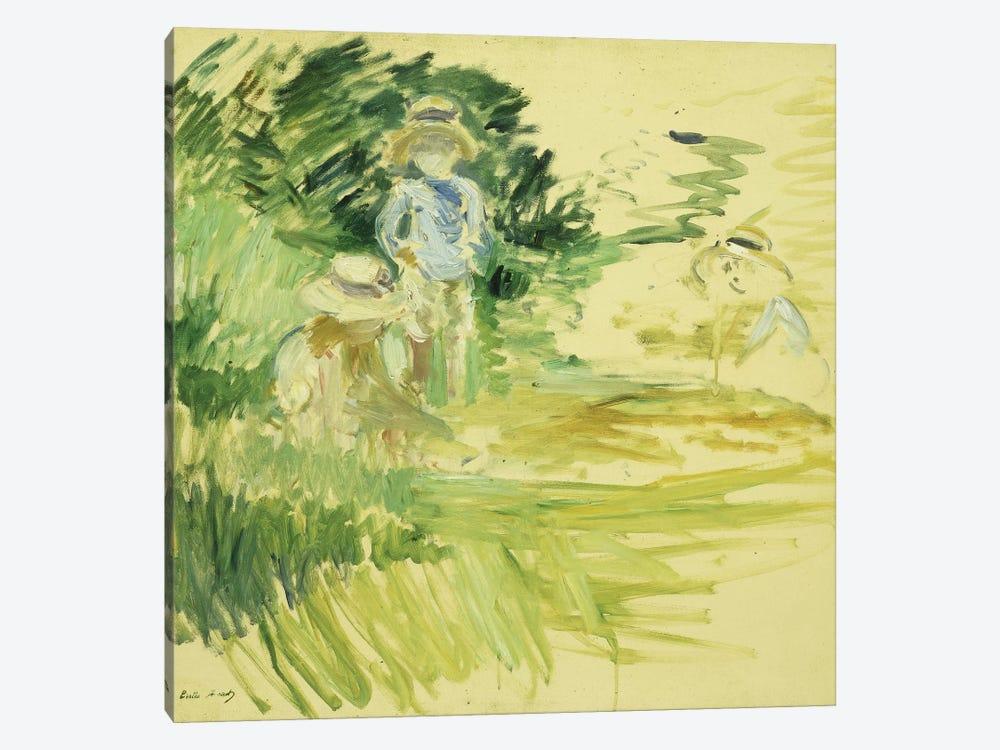 Children By The Side Of A Lake (Enfants au Bord du Lac), 1894 by Berthe Morisot 1-piece Art Print