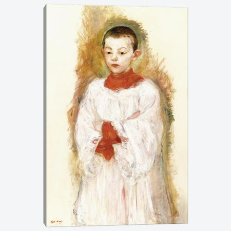 Choirboy (Enfant de Choeur), 1894 Canvas Print #BMN7314} by Berthe Morisot Canvas Art Print