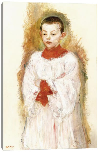 Choirboy (Enfant de Choeur), 1894 Canvas Art Print