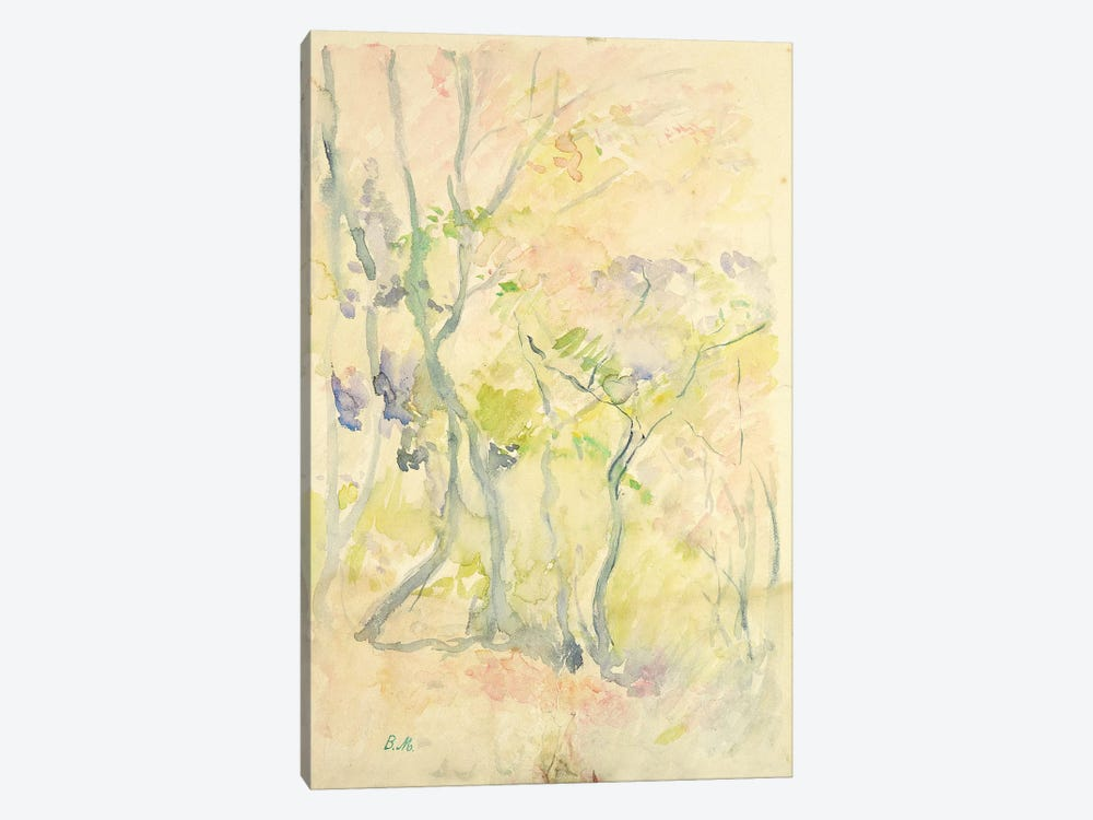 Forest In Fontainebleau, 1893 by Berthe Morisot 1-piece Canvas Wall Art