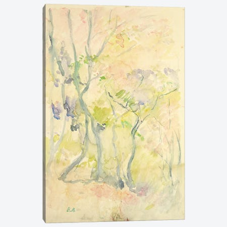 Forest In Fontainebleau, 1893 Canvas Print #BMN7318} by Berthe Morisot Canvas Artwork