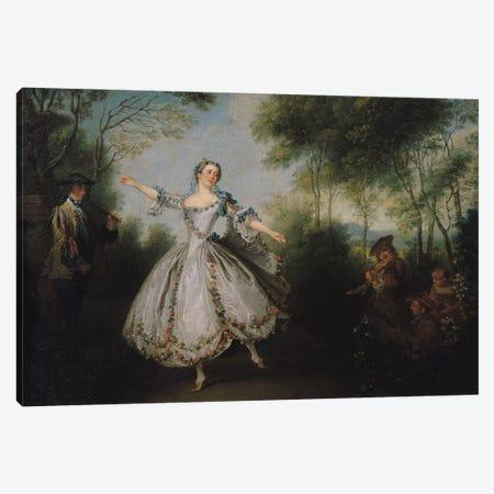 Marie-Anne Cuppi  Canvas Print #BMN732} by Nicolas Lancret Canvas Art