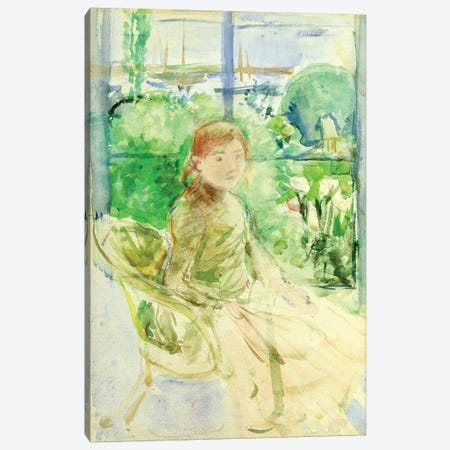 Interior Of A Cottage, 1886 3-Piece Canvas #BMN7330} by Berthe Morisot Canvas Artwork