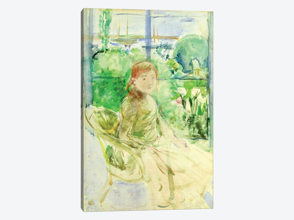 Interior Of A Cottage, 1886 by Berthe Morisot 1-piece Canvas Artwork