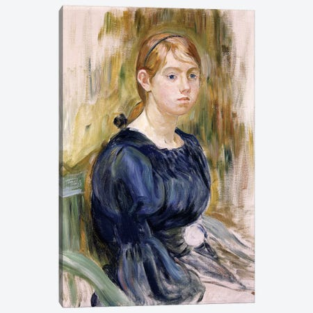 Jeannie Gobillard, 1895 Canvas Print #BMN7331} by Berthe Morisot Canvas Artwork