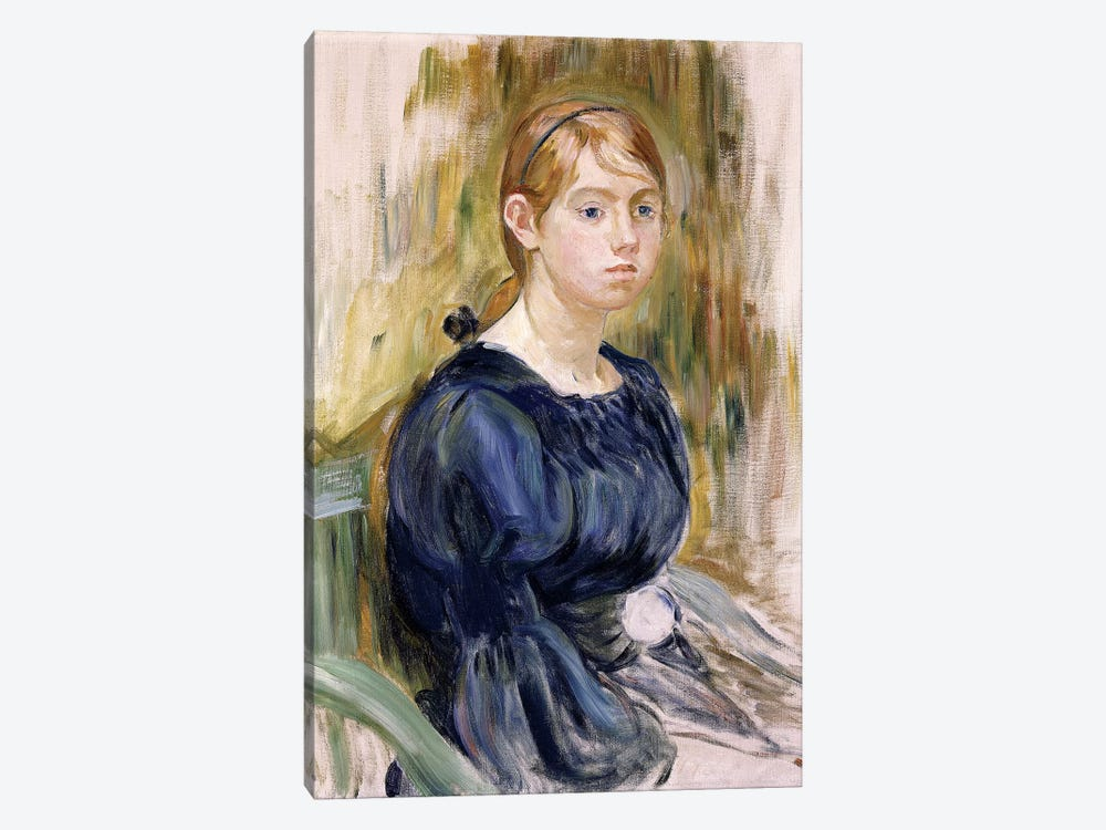 Jeannie Gobillard, 1895 by Berthe Morisot 1-piece Art Print