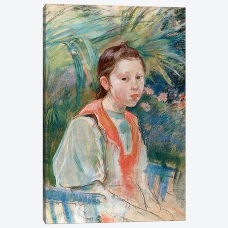 Martha Givaudan, 1892 Canvas Print #BMN7343} by Berthe Morisot Art Print