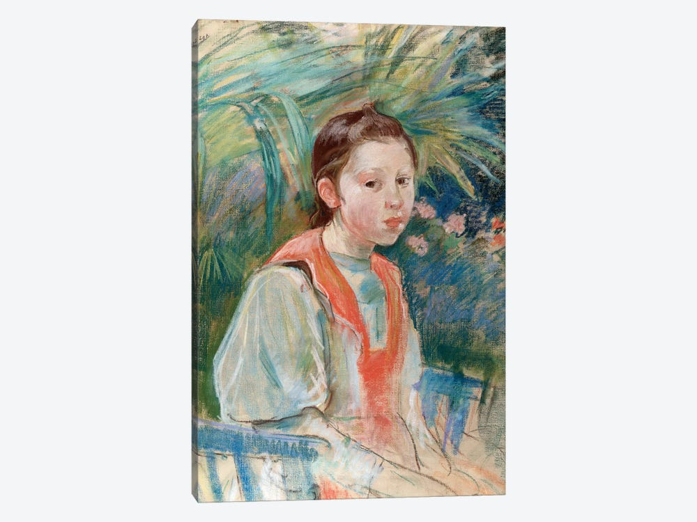 Martha Givaudan, 1892 by Berthe Morisot 1-piece Canvas Art