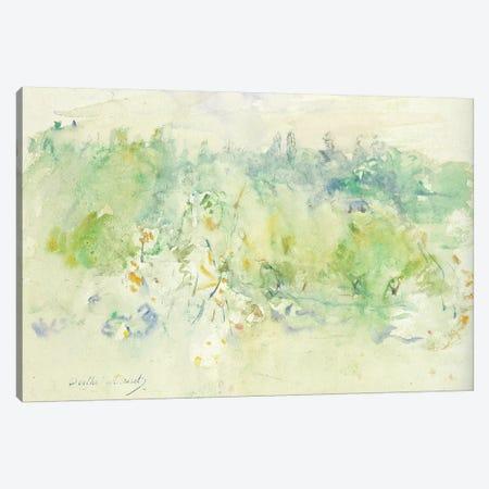 Normandy Landscape, 1880 Canvas Print #BMN7347} by Berthe Morisot Canvas Art