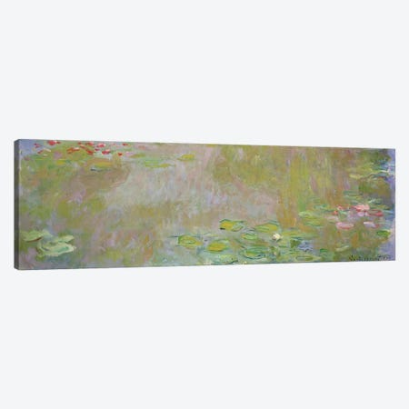 Waterlilies at Giverny, 1917  Canvas Print #BMN734} by Claude Monet Canvas Art Print