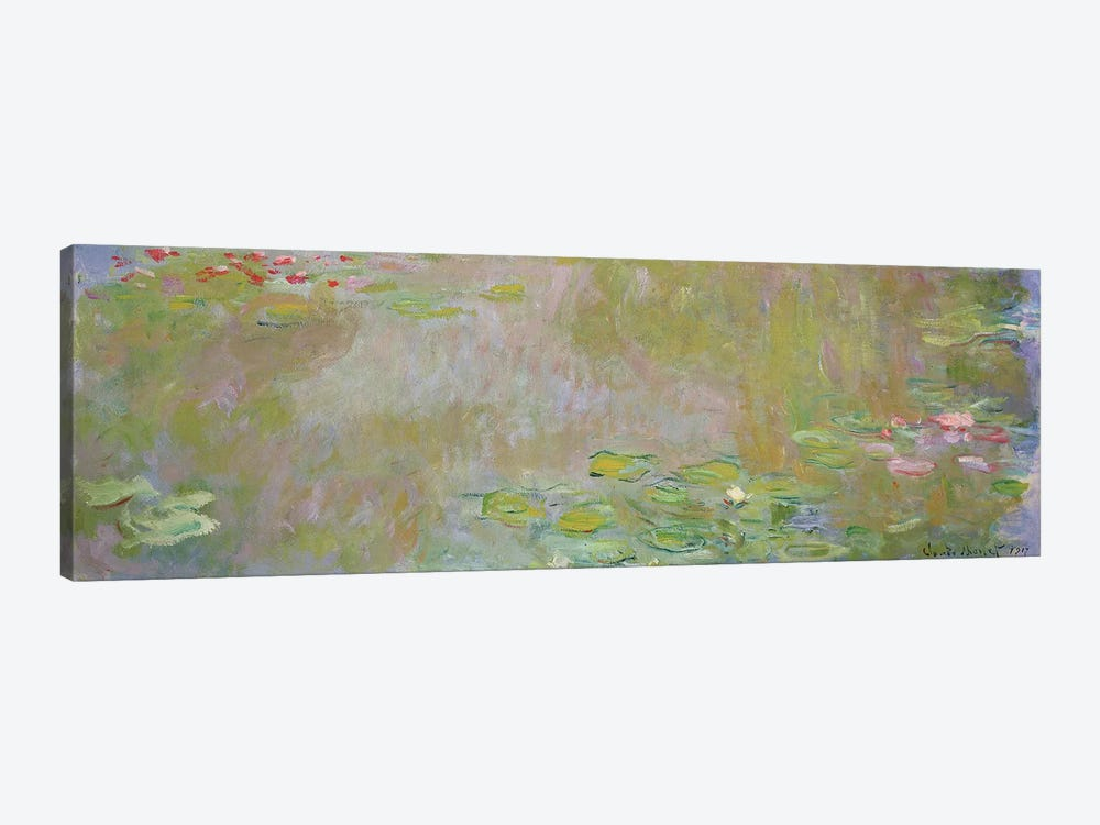 Waterlilies at Giverny, 1917  by Claude Monet 1-piece Canvas Print