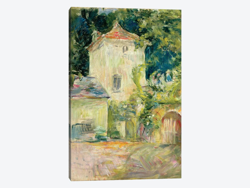 Pigeon Loft At The Chateau du Mesnil, Juziers, 1892 by Berthe Morisot 1-piece Canvas Wall Art