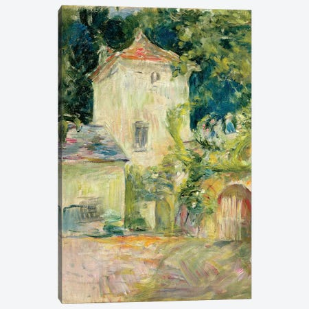 Pigeon Loft At The Chateau du Mesnil, Juziers, 1892 Canvas Print #BMN7350} by Berthe Morisot Canvas Art