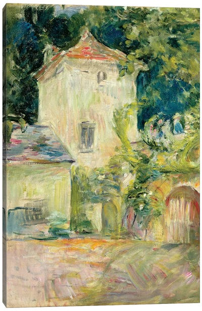 Pigeon Loft At The Chateau du Mesnil, Juziers, 1892 Canvas Art Print