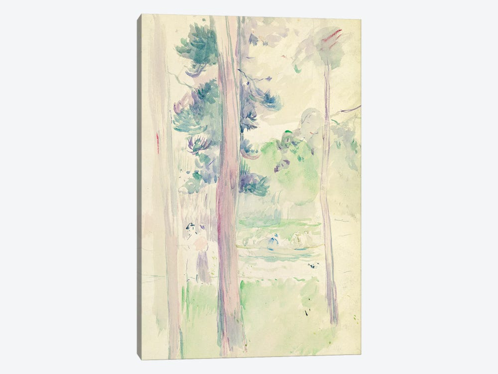 Pines By The Lake, 1893 by Berthe Morisot 1-piece Canvas Art Print