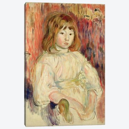 Portrait Of Marcelle, 1895 Canvas Print #BMN7357} by Berthe Morisot Canvas Print