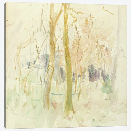 Red Trees, 1885 Canvas Print #BMN7361} by Berthe Morisot Canvas Print