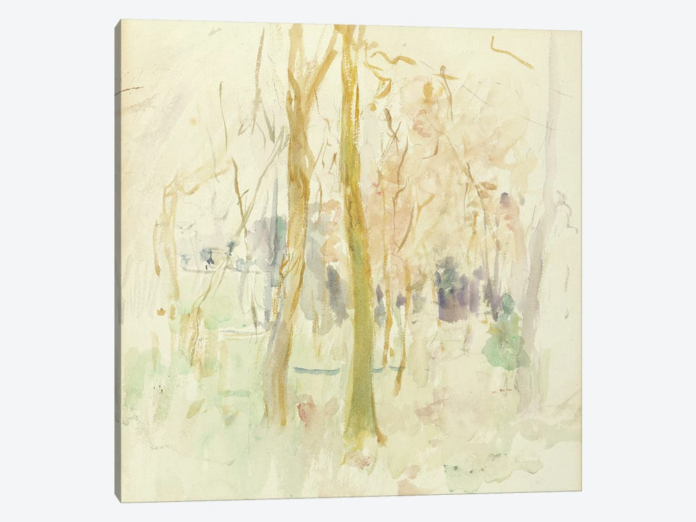 Red Trees, 1885 by Berthe Morisot 1-piece Canvas Wall Art