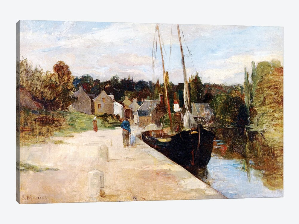Rosbras, Brittany, 1866-67 by Berthe Morisot 1-piece Canvas Art Print