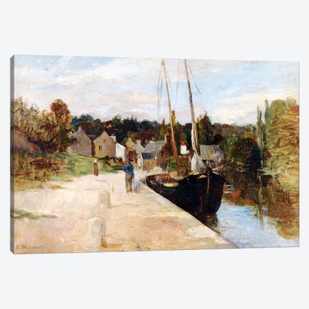 Rosbras, Brittany, 1866-67 Canvas Print #BMN7362} by Berthe Morisot Canvas Art Print