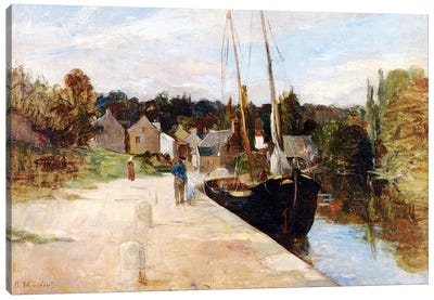 Rosbras, Brittany, 1866-67 Canvas Art Print