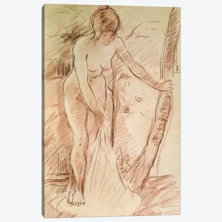 Standing Bather, 1888 Canvas Print #BMN7365} by Berthe Morisot Canvas Wall Art