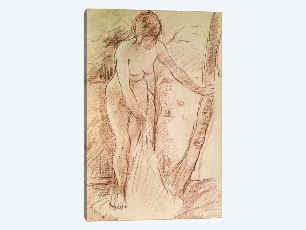 Standing Bather, 1888 by Berthe Morisot 1-piece Canvas Wall Art