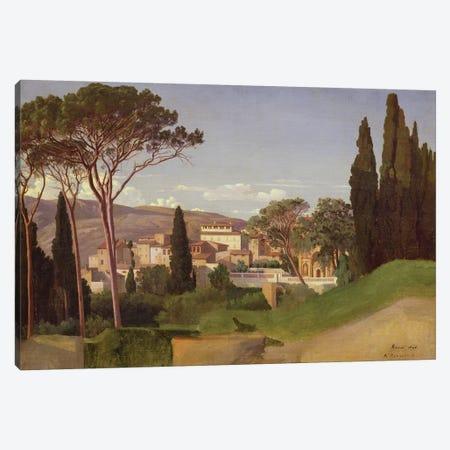 View of a Roman Villa, 1844  Canvas Print #BMN736} by Jean Achille Benouville Canvas Print