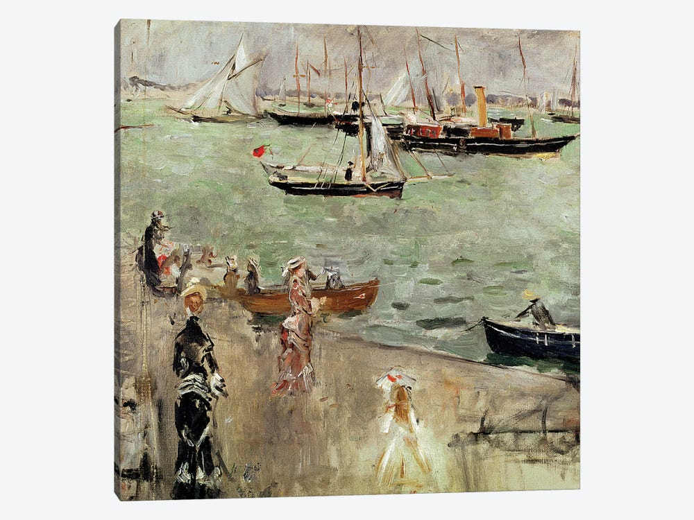 The Isle Of Wight, 1875 by Berthe Morisot 1-piece Canvas Art Print