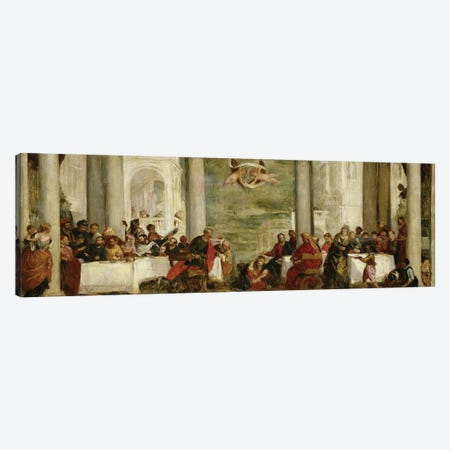 The Meal At The House Of Simon The Pharisee, After A Painting By Veronese, 1860 Canvas Print #BMN7385} by Berthe Morisot Canvas Wall Art