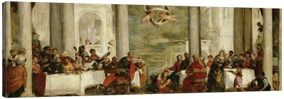 The Meal At The House Of Simon The Pharisee, After A Painting By Veronese, 1860 Canvas Art Print