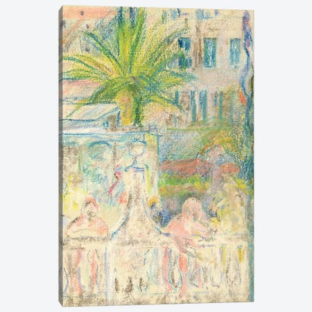 The Nice Carnival, 1889 3-Piece Canvas #BMN7386} by Berthe Morisot Canvas Wall Art
