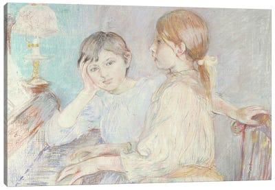The Piano, 1888 Canvas Art Print